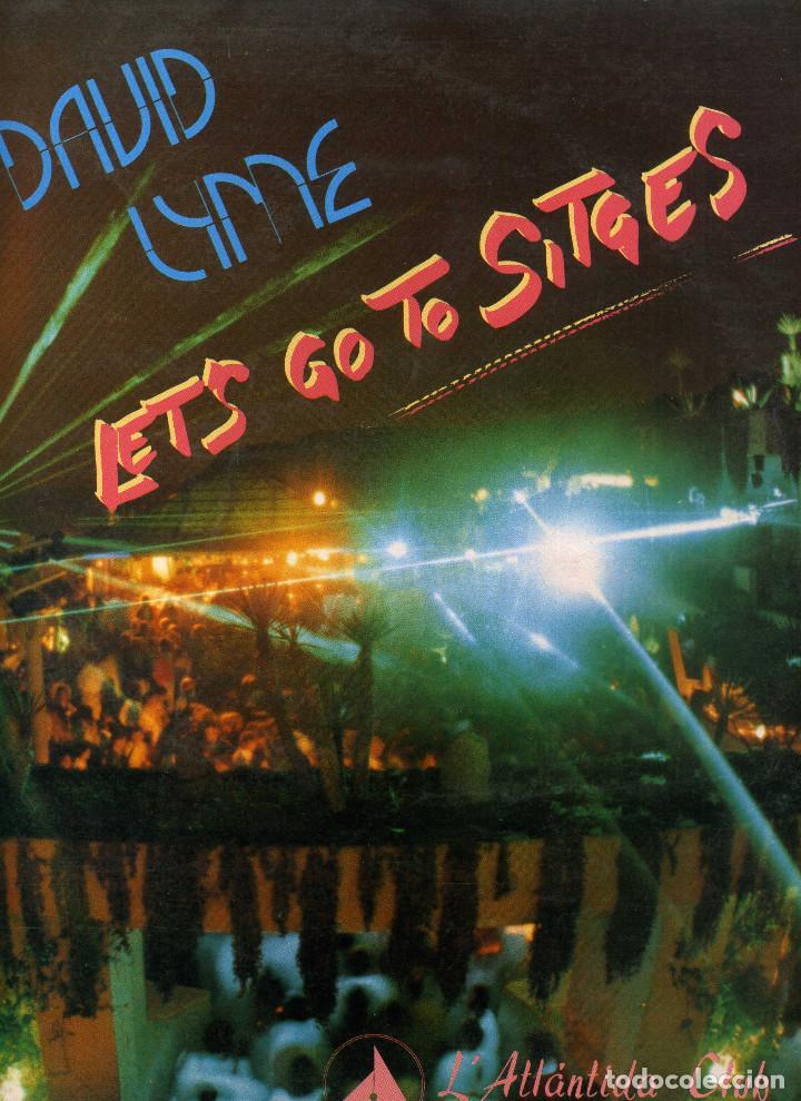DAVID LYME - LETS GO TO SITGES (Música - Discos de Vinilo - Maxi Singles - Pop - Rock - New Wave Internacional de los 80)