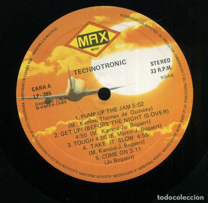 Discos de vinilo: TECHOTRONIC - PUMP UP THE JAM - Foto 3 - 203988858