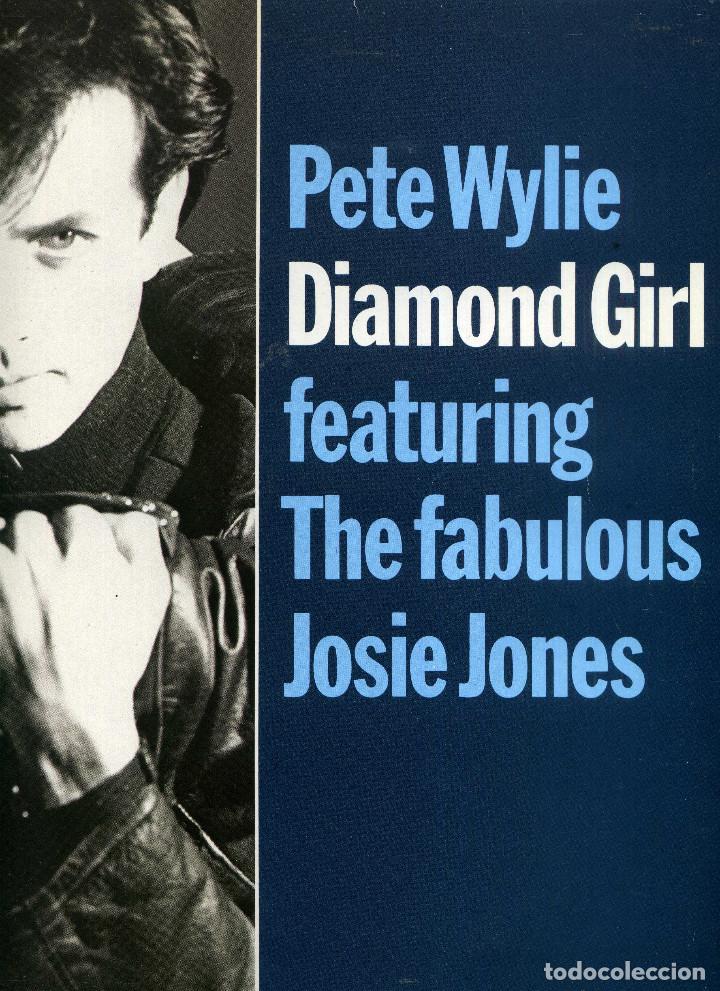 PETE WYLIE - DIAMOND GIRL (Música - Discos de Vinilo - Maxi Singles - Pop - Rock - New Wave Internacional de los 80)
