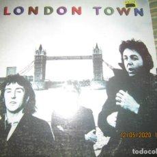 Discos de vinilo: WINGS - LONDON TOWN LP - ORIGINAL U.S.A. - CAPITOL RECORDS 1978 CON FUNDA INT. ORIGINAL. Lote 203990438