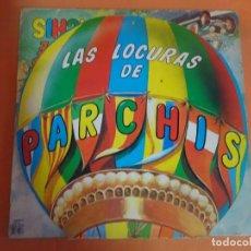 Discos de vinilo: LP, LAS LOCURAS DE PARCHÍS - VINILO ROJO - CARÁTULA TROQUELADA, VER FOTOS. Lote 203992440