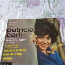 Discos de vinilo: PATRICIA CARLI: MUSICA DE FRANCIA- SOLO PORTADA SIN VINILO- OPORTUNIDAD COLECCIONISTAS. Lote 203994318