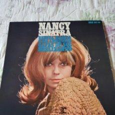 Discos de vinilo: NANCY SINATRA: SOLO LA PORTADA SIN VINILO- OPORTUNIDAD COLECCIONISTAS-EP HISPAVOX. Lote 203994961
