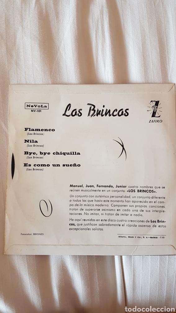 Discos de vinilo: Discos de los Brincos 45 Rpm - Foto 2 - 204000813