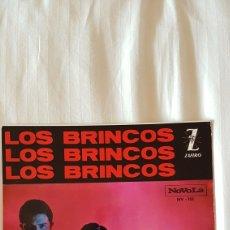 Discos de vinilo: DISCOS DE LOS BRINCOS 45 RPM. Lote 204000813