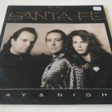 Discos de vinilo: SANTA FÉ - DAY AND NIGHT. Lote 204004206