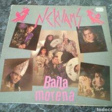 Discos de vinilo: NEKUAMS - BAILA MORENA. Lote 204008876