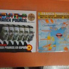 Discos de vinilo: 2 LP (UNO DOBLE) - FRANCK POURCEL, VER FOTOS. Lote 204014163