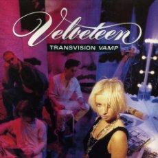 Discos de vinilo: VELVETEEN - TRANSVISION VAMP. Lote 204014843