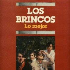 Discos de vinilo: LOS BRINCOS - LO MEJOR. Lote 204023880