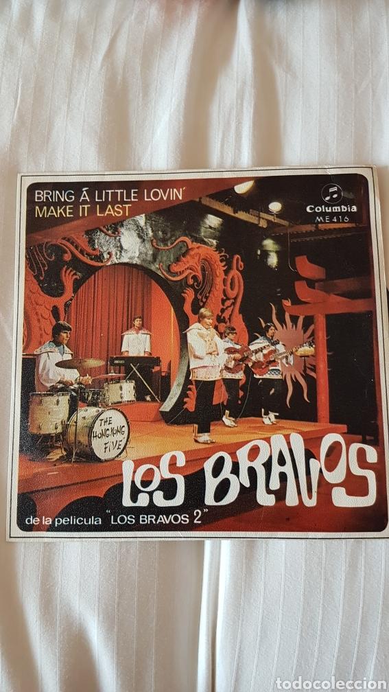 LOS BRAVOS DE LA PELÍCULA LOS BRAVOS 2 (Música - Discos de Vinilo - EPs - Grupos Españoles de los 70 y 80)