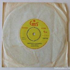 Discos de vinilo: SINGLE MUSICA AFRICANA JOHN MWALE KENYATTA ALITESWA SHIRIKISHOLA AFRICA NIGERIA KENIA. Lote 204054401
