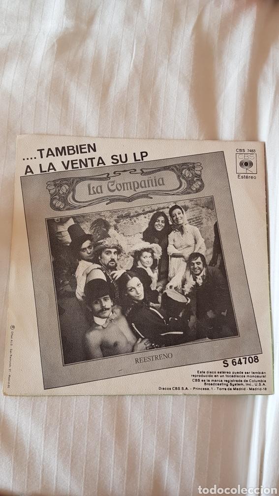 Discos de vinilo: La compañía. EL soldadito 45 rpm - Foto 2 - 204054775