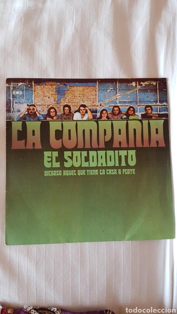 LA COMPAÑÍA. EL SOLDADITO 45 RPM (Música - Discos de Vinilo - EPs - Grupos Españoles de los 70 y 80)