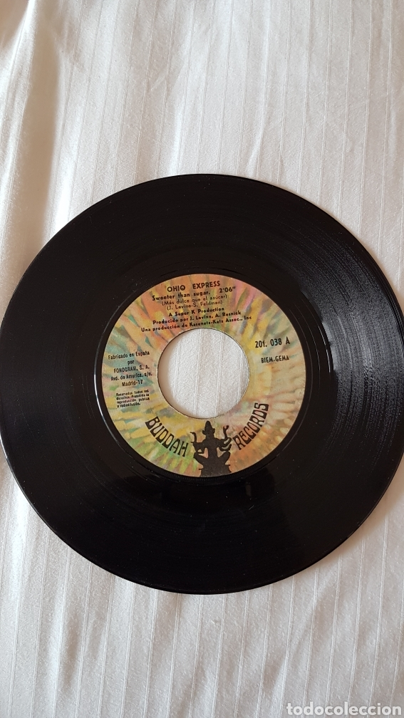 DISCO OHIO EXPRESS 45 RPM (Música - Discos de Vinilo - EPs - Pop - Rock Internacional de los 70)