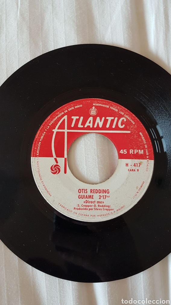 Discos de vinilo: Disco Otis Redding direct me - Foto 2 - 204055497