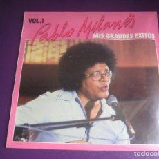 Discos de vinilo: PABLO MILANÉS LP MOVIEPLAY 1982 - MIS GRANDES EXITOS VOL. 1 - NUEVA TROVA CUBA. Lote 204069437
