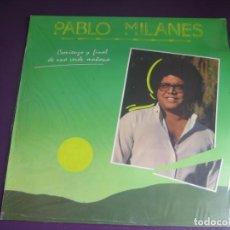 Discos de vinilo: PABLO MILANÉS LP ARIOLA 1985 - COMIENZO Y FINAL DE UNA VERDE MAÑANA NUEVA TROVA CUBA - PRECINTADO. Lote 204070490