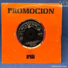 Discos de vinilo: SINGLE - ELVIS PRESLEY WITH THE JORDANAIRES ‎– ALL THAT I AM - RCA1545 - VICTOR -AÑO 1966 - ENGLAND. Lote 204080270