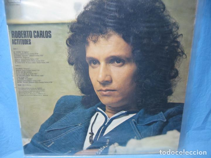 Discos de vinilo: LP DE NAT KING COLE EN ESPAÑOL Y ROBERTO CARLOS - Foto 2 - 204086562