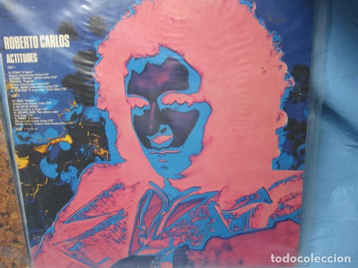 Discos de vinilo: LP DE NAT KING COLE EN ESPAÑOL Y ROBERTO CARLOS - Foto 4 - 204086562