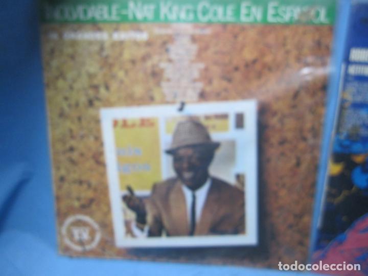 Discos de vinilo: LP DE NAT KING COLE EN ESPAÑOL Y ROBERTO CARLOS - Foto 5 - 204086562