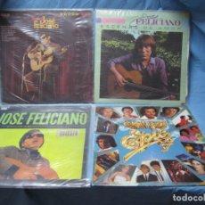 Discos de vinilo: LOTE DE LP DE JOSE FELICIANO Y EL DISCO DE ORO DE 1980. Lote 204088330