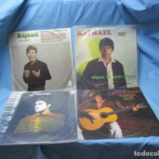 Discos de vinilo: LOTE LP DE RAPHAEL PATXI ANDION Y JOSE FELICIANO. Lote 204093036