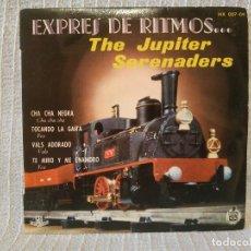 Discos de vinilo: THE JUPITER SERENADERS - EXPRES DE RITMOS - RARO EP SPAIN HISPAVOX DE 1959 EN ESTADO IMPECABLE. Lote 204089785