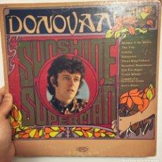 Discos de vinilo: LP DONOVAN SUNSHINE SUPERMAN USA 1966. Lote 204095637