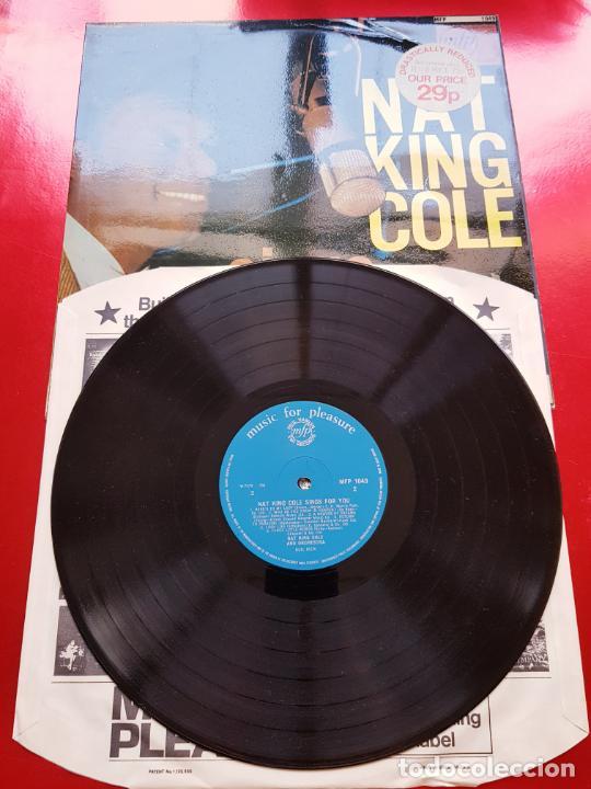 Discos de vinilo: LP-NAT KING COLE-SINGS FOR YOU-12 TEMAS-INGLÉS-EXCELENTE ESTADO-ANTIGUO-VER FOTOS. - Foto 2 - 204097333