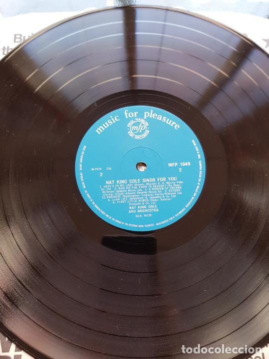 Discos de vinilo: LP-NAT KING COLE-SINGS FOR YOU-12 TEMAS-INGLÉS-EXCELENTE ESTADO-ANTIGUO-VER FOTOS. - Foto 3 - 204097333