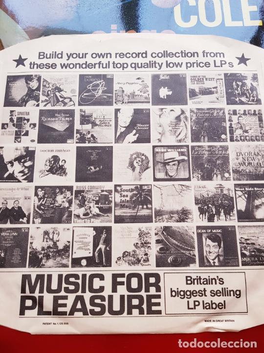 Discos de vinilo: LP-NAT KING COLE-SINGS FOR YOU-12 TEMAS-INGLÉS-EXCELENTE ESTADO-ANTIGUO-VER FOTOS. - Foto 4 - 204097333