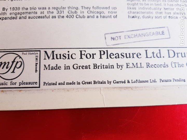 Discos de vinilo: LP-NAT KING COLE-SINGS FOR YOU-12 TEMAS-INGLÉS-EXCELENTE ESTADO-ANTIGUO-VER FOTOS. - Foto 7 - 204097333