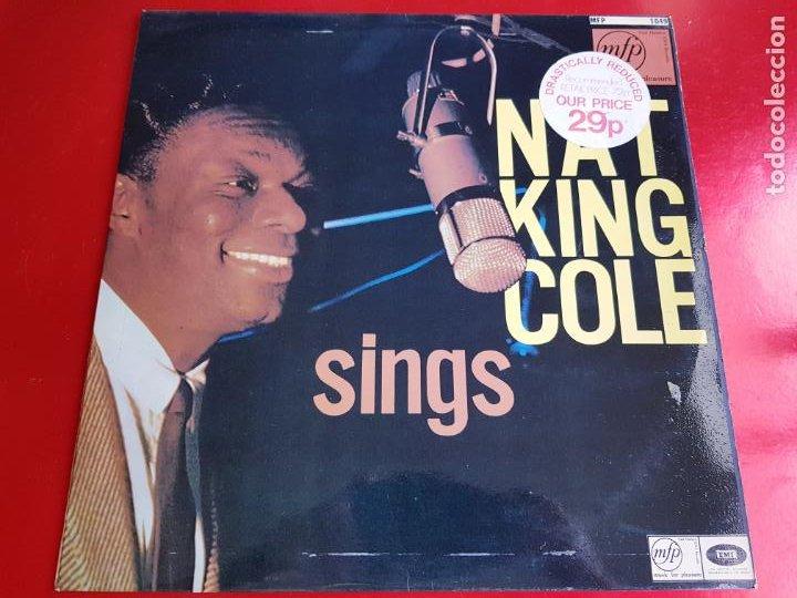 LP-NAT KING COLE-SINGS FOR YOU-12 TEMAS-INGLÉS-EXCELENTE ESTADO-ANTIGUO-VER FOTOS. (Música - Discos - LP Vinilo - Cantautores Internacionales)