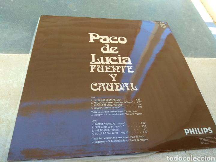 Discos de vinilo: Paco de Lucía - Fuente y Caudal - Philips 1973 - - Foto 2 - 186174915