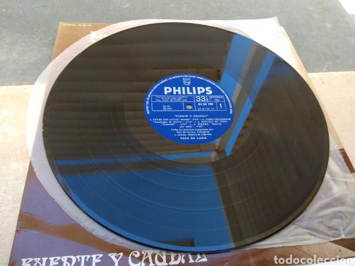 Discos de vinilo: Paco de Lucía - Fuente y Caudal - Philips 1973 - - Foto 4 - 186174915