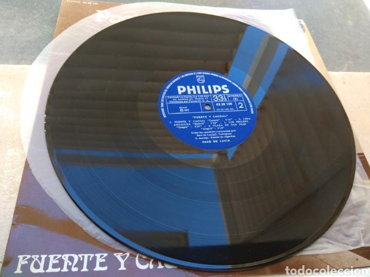 Discos de vinilo: Paco de Lucía - Fuente y Caudal - Philips 1973 - - Foto 5 - 186174915