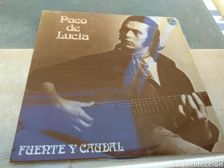 PACO DE LUCÍA - FUENTE Y CAUDAL - PHILIPS 1973 - (Música - Discos - LP Vinilo - Flamenco, Canción española y Cuplé)