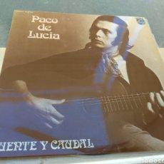 Discos de vinilo: PACO DE LUCÍA - FUENTE Y CAUDAL - PHILIPS 1973 -. Lote 186174915
