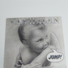 Discos de vinilo: VAN HALEN JUMP / RUNNIN' WITH THE DEVIL / HOUSE OF PAIN ( 1984 WEA ESPAÑA ) DAVID LEE ROTH. Lote 204099192