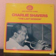 Discos de vinilo: DISCO VINILO LPS JAZZ GREATEST NAMES CHARLIE SHAVERS ( THE LAST SESSION). Lote 204103630