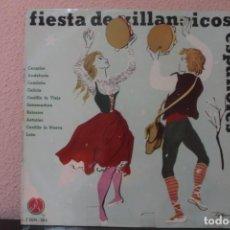Discos de vinilo: DISCO VINILO LPS FIESTA DE VILLANCICOS ESPAÑOLES. Lote 204104938