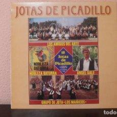 Discos de vinilo: DISCO VINILO LPS 18 JOTAS DE PICADILLO LOS AMIGOS DEL ARTE GRUPO DE JOTA MAÑICOS. Lote 204106388