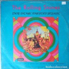 Discos de vinilo: THE ROLLING STONES – THEIR SATANIC MAJESTIES REQUEST - LP DE VINILO 1ª EDICIONDE ISRAEL - 1967 #. Lote 204112778