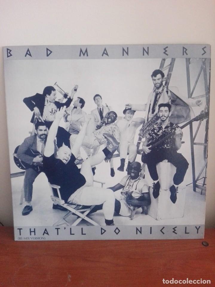 BAD MANNERS -THAT¨LL DO NICELY (RE-MIX VERSION) -MAXI PROMOCIONAL N.4294.- EDI.AMERICANA 1984 (Música - Discos de Vinilo - Maxi Singles - Reggae - Ska)