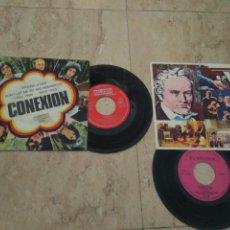 Discos de vinilo: CONEXION- DOS EP--CIRCULO DE LECTORES Y OBSEQUIO DOMEQ-STRONG LOVER+3 / UN MUNDO SIN AMOR+3 /. Lote 204137506
