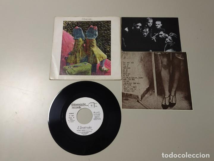 0520- ULTRATRUITA SANGRE Y ARENA SINGLE ESP 1983 VIN 7 POR VG+ DIS NM (Música - Discos - LP Vinilo - Otros estilos)