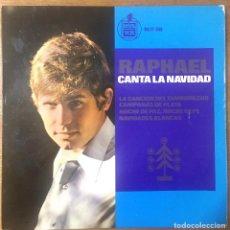 Discos de vinilo: RAPHAEL CANTA A LA NAVIDAD - HISPA VOX. Lote 204142861