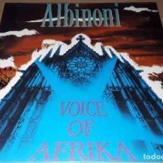 Discos de vinilo: MAXI SINGLE - ALBINONI - VOICE OF AFRIKA - ALBINONI. Lote 204149172